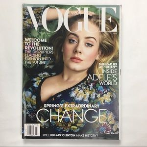 Vogue Adele Edition March 2016